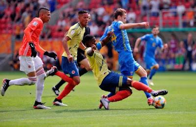Colombia sub 20 vs Ucrania Sub 20 mundial 2019