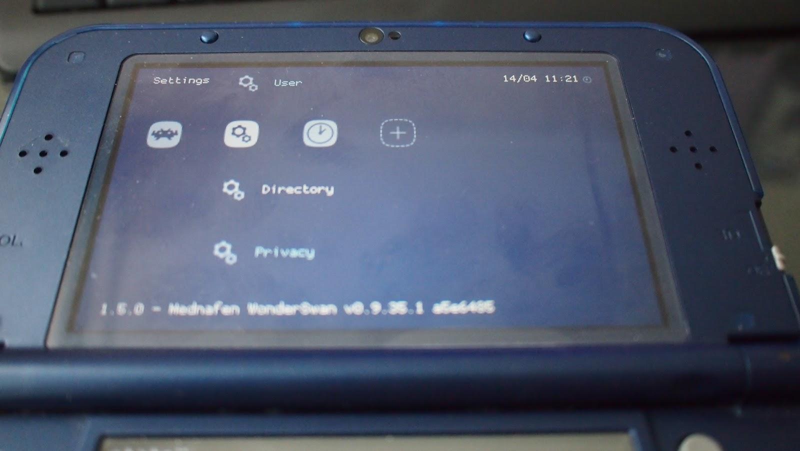 Old Game Fan: NEW 3DS에서 레트로아크 실행기