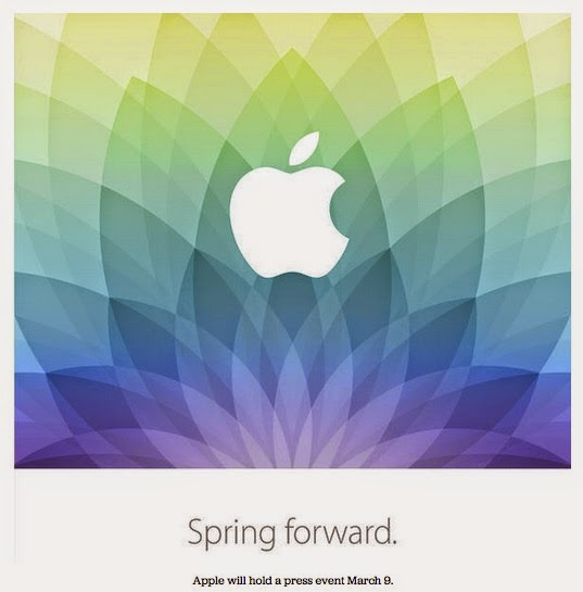 Morgan's Milieu | Apple Event March 2015: Spring Forward, a suggestion about Apple Watch?