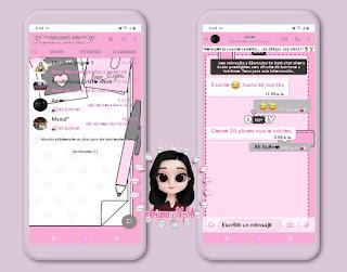Diary Cute Theme For YOWhatsApp & Fouad WhatsApp By Ariana