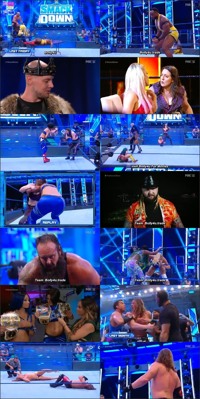 WWE Friday Night Smackdown HDTV 480 250Mb 17 July 2020 Download