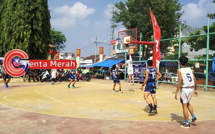 77 Tim Basket se-Lampung Bertarung Dalam Metro 3X3 Competion