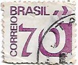 Selo Tipo cifra - 70