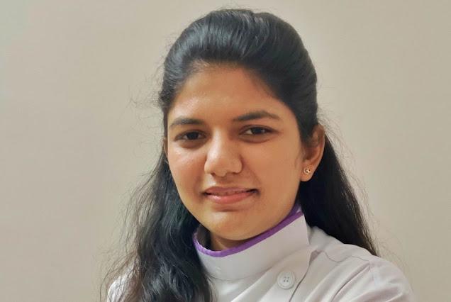 Dr. Parshita Pancholi, pedodontist, child dental specialist at Dr. Bharat Katarmal Dental Clinic Jamnagar