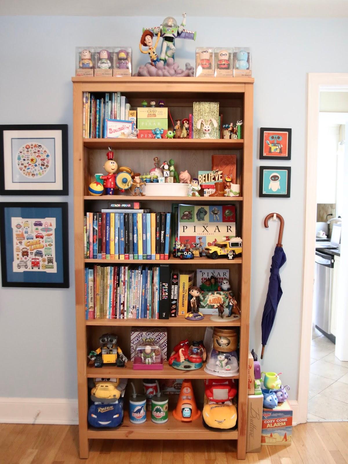 pixar themed home office