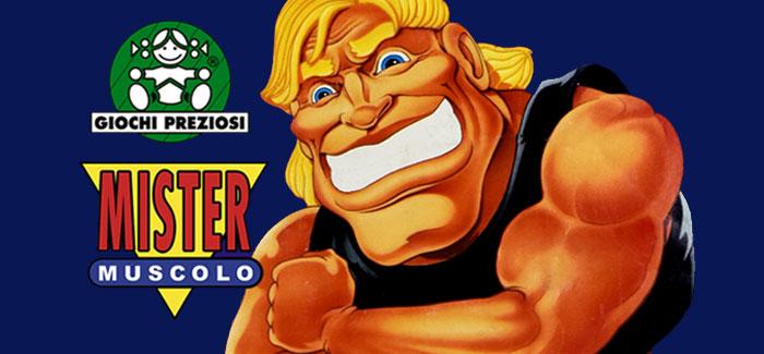 Mister Muscolo Giochi Preziosi 1992