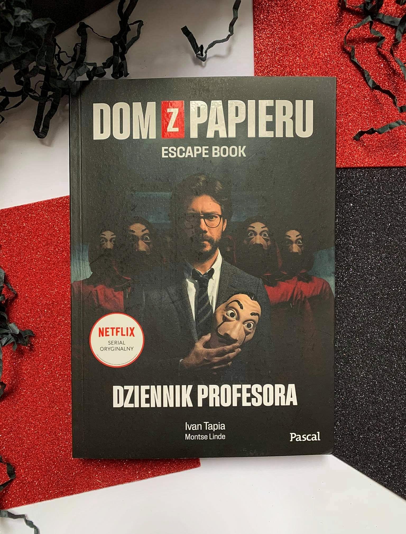 Dom z Papieru. Dziennik Profesora. Escape Book - Iwan Tapia  i Montse Linde