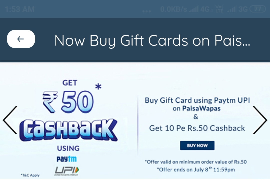 Amazon Flipkart Paytm And Other Best Offers: July 2019
