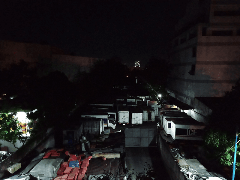 OPPO A5s low light 1x