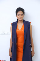 Priyamani in Beautiful Short Deep neck Orange Dress ~  Exclusive 20.JPG