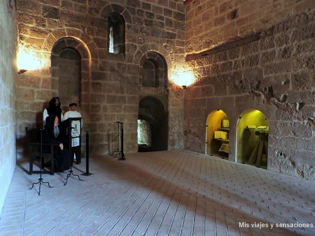 Calefactorio, Monasterio de Piedra