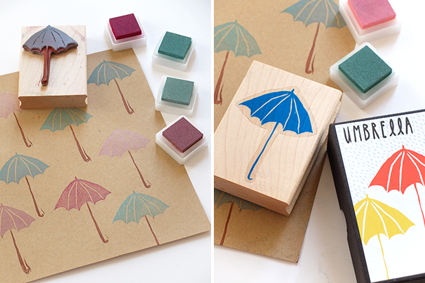 Bluebells Design Creare Una Carta Regalo Con I Timbri