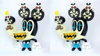 Muerto Mouse Vinyl Figure by Jorge R. Gutierrez x 3DRetro
