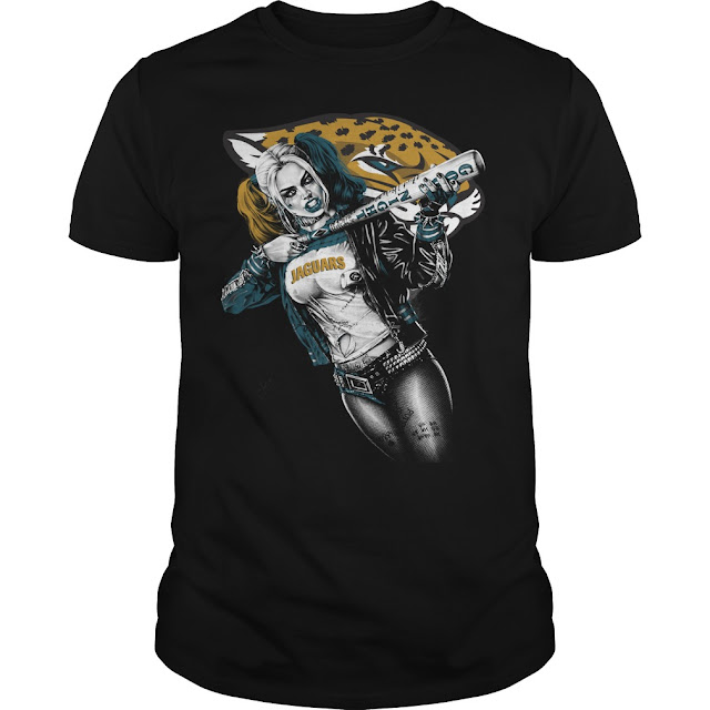 Jacksonville Jaguars Harley Quinn Shirt