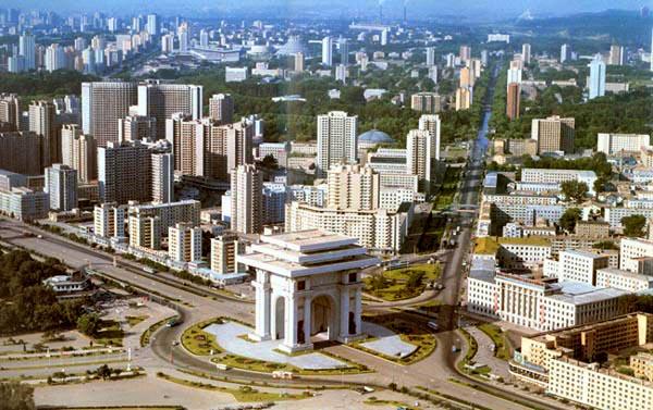Pyongyang, Capital da Coreia do Norte