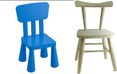 Comparativa de silla de Ikea