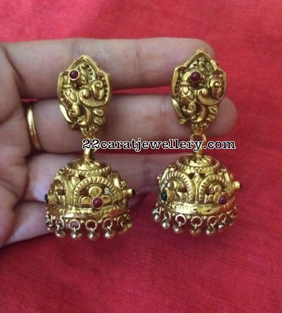 Antique Jhumkas Gallery in 92.5 Silver