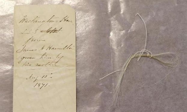 Η τούφα μαλλιών του Τζορτζ Ουάσιγκτον και το μουστάκι του Ναυπλιώτη σανδαλοποιού