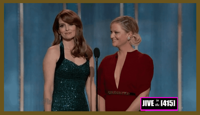 Golden Globe Award Hosts Tina Fey and Amy Poehler 1/13/2013