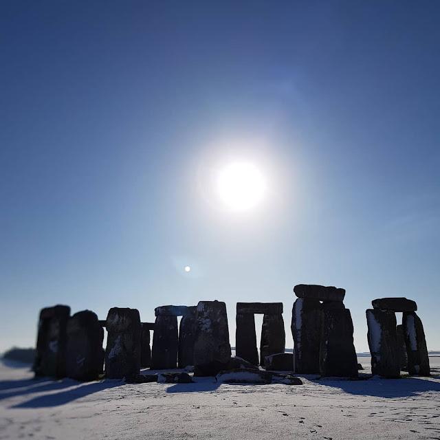 Stonehenge, febrero 2019