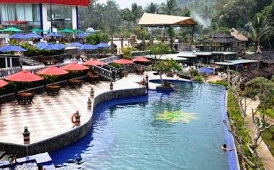 Kolam Renang The John's Cianjur Aquatic Resort