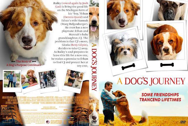 A Dog's Jouney DVD DVD Cover