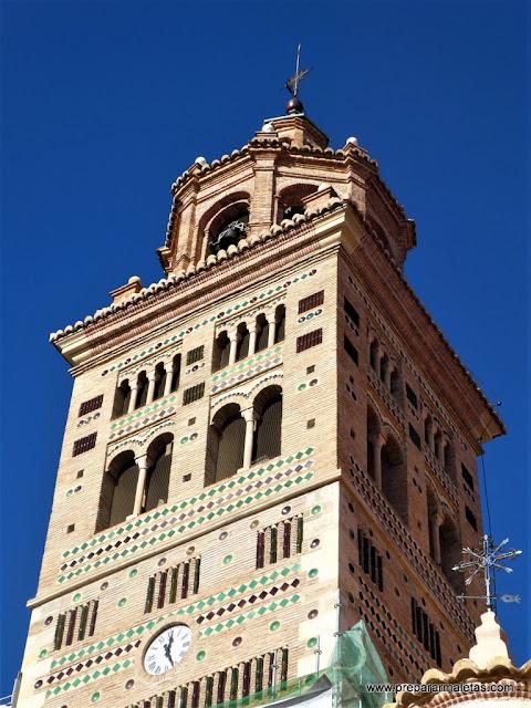 torre mudéjar en la Catedral de Teruel