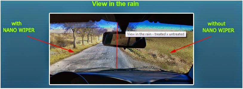 NanoTechnology in Windscreen, Windows and Wipers