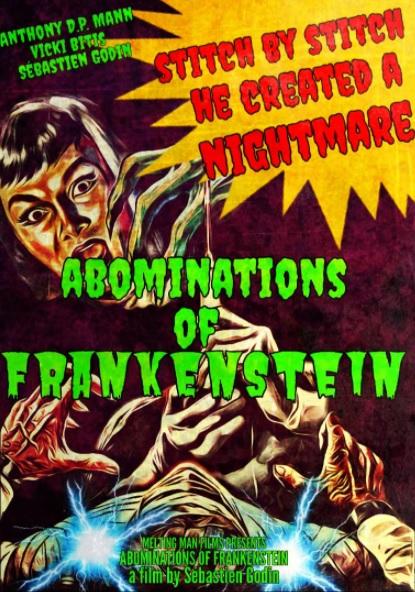 'The Abominations of Frankenstein': La perversión del clásico de Mary Shelley por Sébastien Godin [Tráiler]