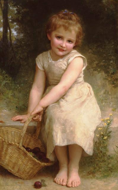 Адольф Вильям Бугро - Сливы (1896)