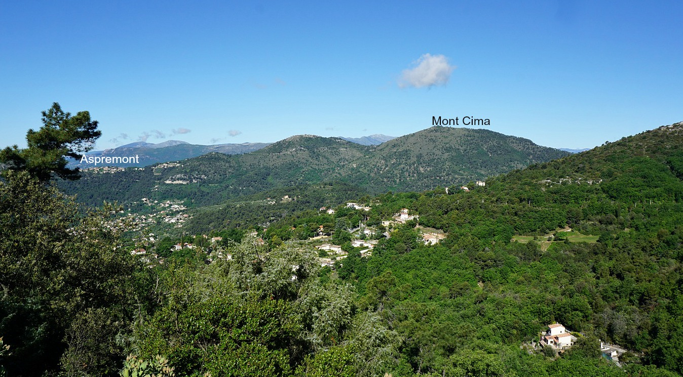 View to Mont Cima