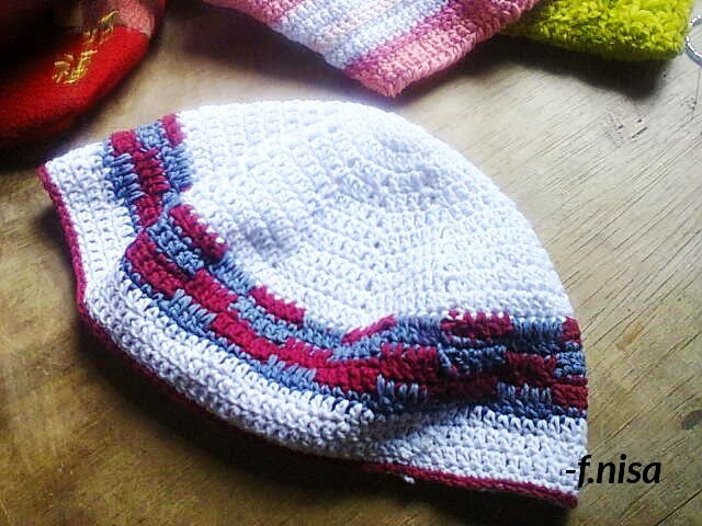 crochet kufi hat for prayer