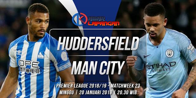 Prediksi Bola Huddersfield Town vs Manchester City Liga Inggris