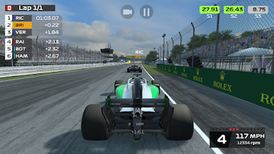 لعبة F1 Mobile Racing للاندرويد, لعبة F1 Mobile Racing مهكرة