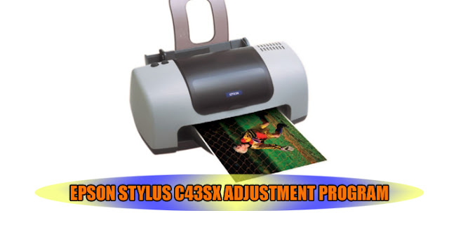 Epson Stylus C43SX Printer Adjustment Program