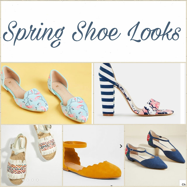 Fashion Finds | Spring Shoe Looks