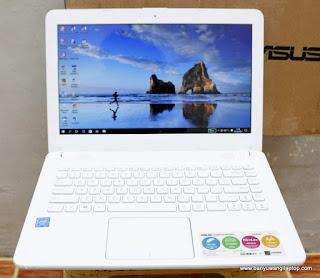 Jual Laptop ASUS X441N Intel Celeron N3350 Bekas Banyuwangi