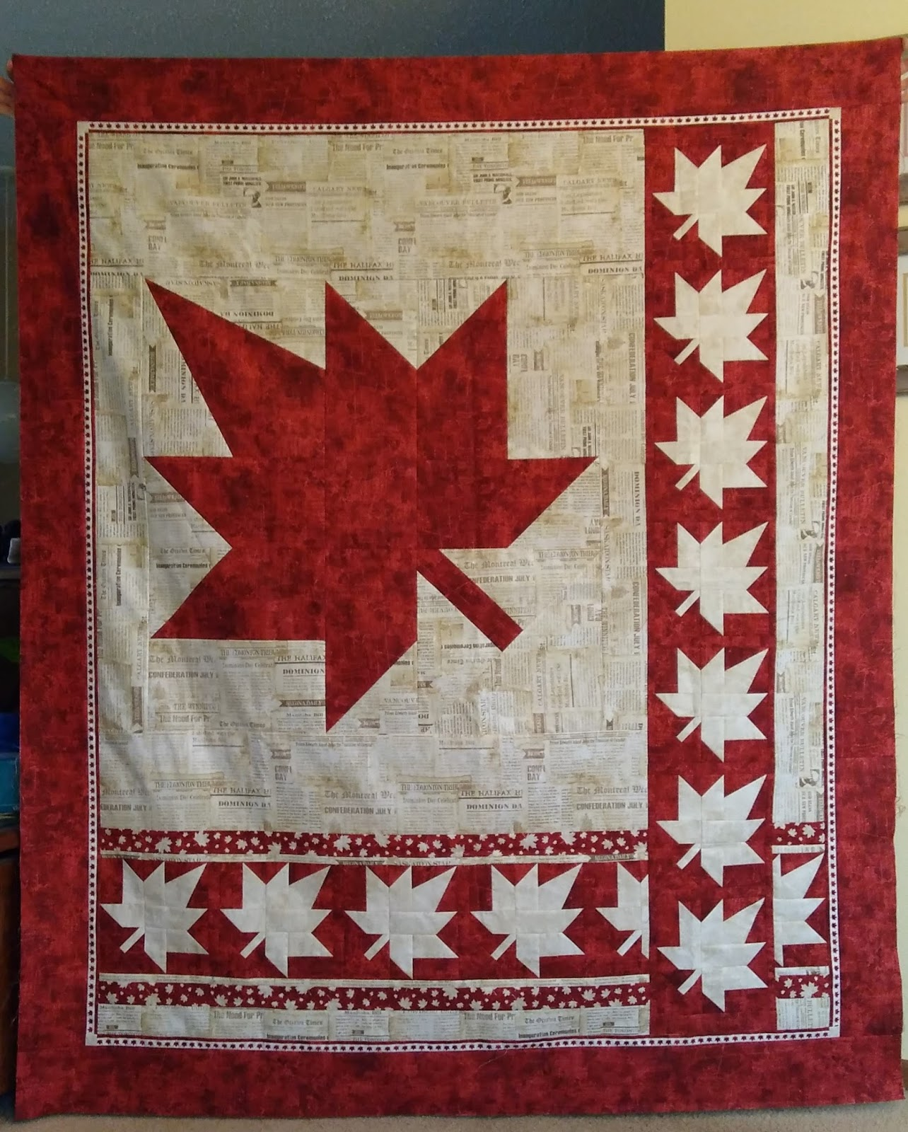 Canuck Quilter: Canada 150 Quilt: It's your turn! : quilt canada - Adamdwight.com