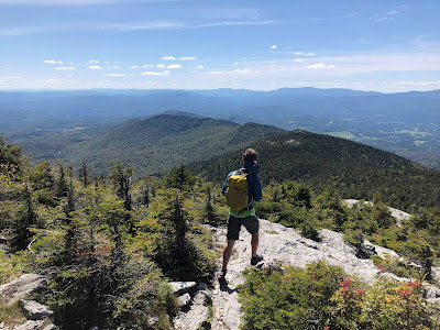 Hiking on Mt. Hunger with the Lowe Alpine Tensor 23.