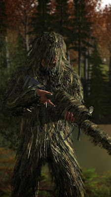 ghillie suit pubg wallpaper