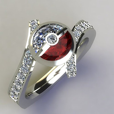 Poké Ball Ring