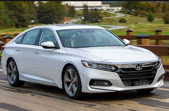 10th Generation Honda Accord 2019 front View
