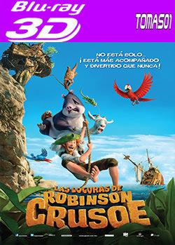 Las locuras de Robinson Crusoe (2016) 3D SBS