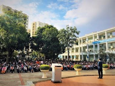 Diễn giả Nguyễn Quốc Chiến chia sẻ về phòng tránh xâm hại