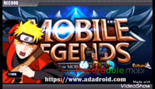 Naruto Senki Mod Mobile Legends by Andri & Akbar Apk
