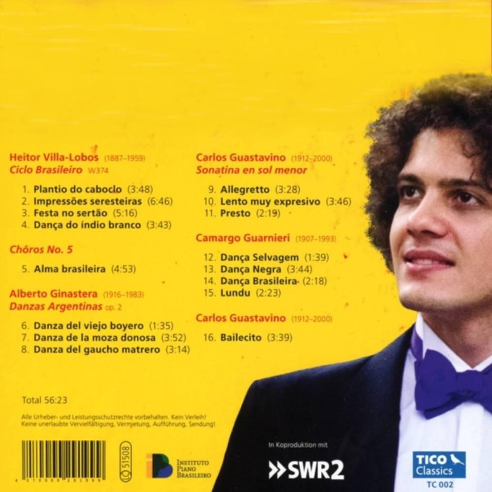 ambiente de leitura carlos romero cronica samuel sam cavalcanti musica erudita brasileira fabio martino piano latin soul villa lobos alberto ginastera