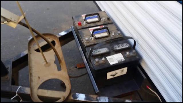 Travel Trailer Battery
