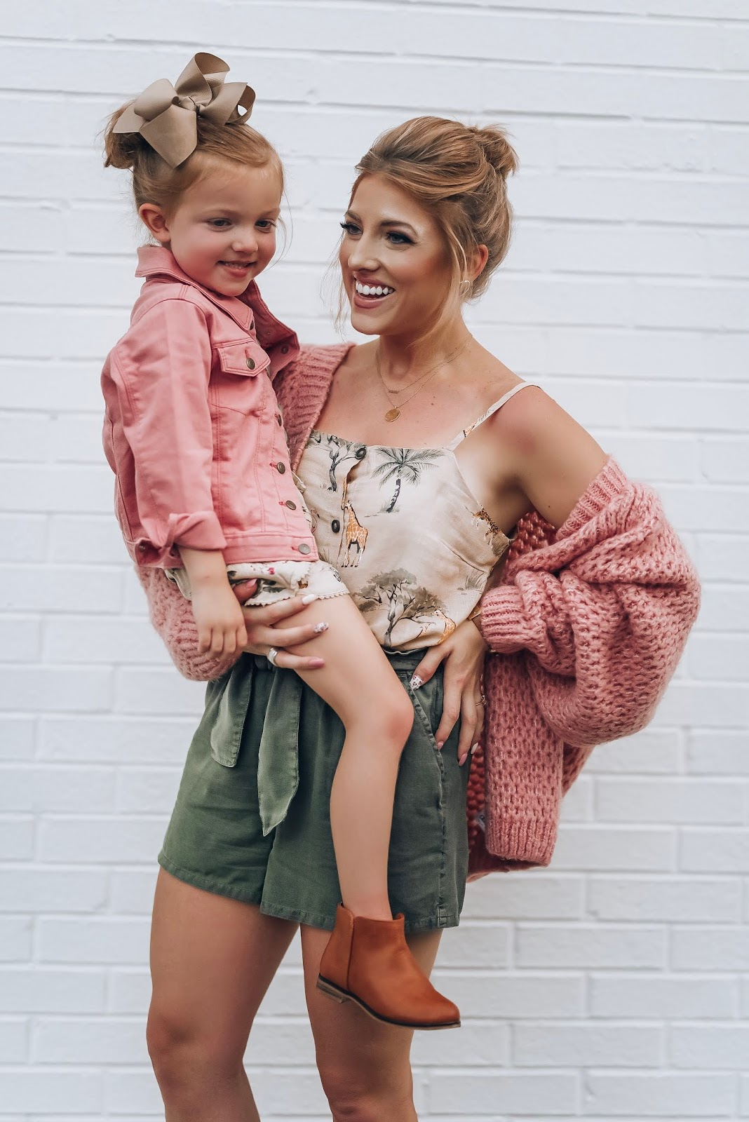 Safari Fun: The Perfect Mommy & Me Transition To Fall Looks - Something Delightful blog