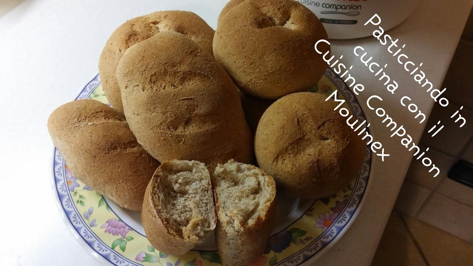 Pasticciando in cucina con il cuisine companion moulinex for Cuisine integrale
