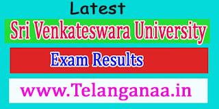 Sri Venkateswara University LLB 3rd Years 6th Sem July-2016 Exam Results